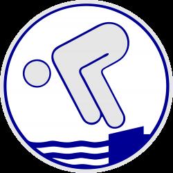 Schwimmabzeichen Silber