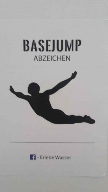 BASEJUMP Abzeichen